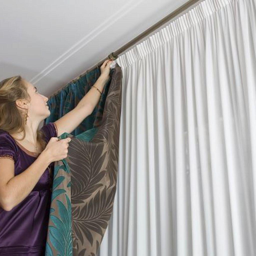 Стираем шторы – легко и с удовольствием!