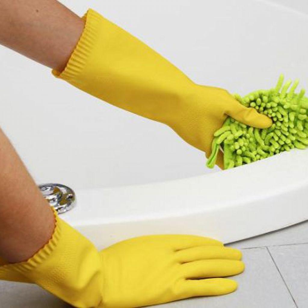 Чистим акриловую ванну своими руками – нет хлорке!