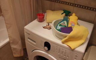 Уксус – как средство от накипи в стиральной машине