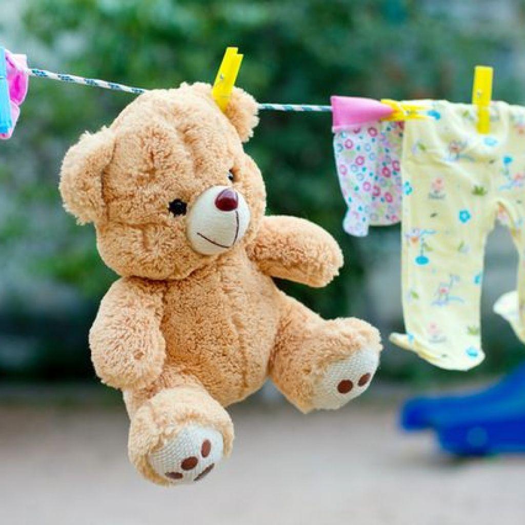 Стирка мягких игрушек с разными наполнителями