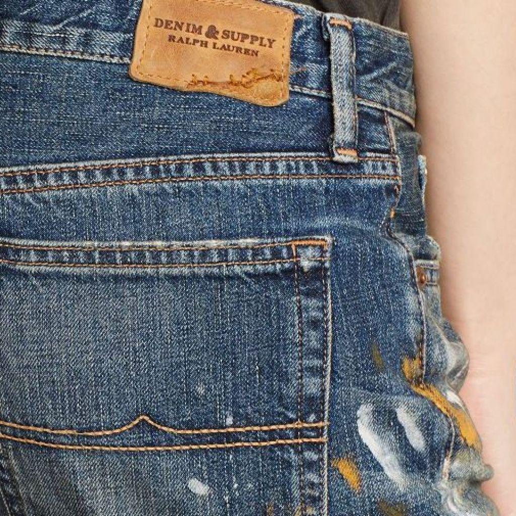 8 способов выведения краски с джинс – подробно!