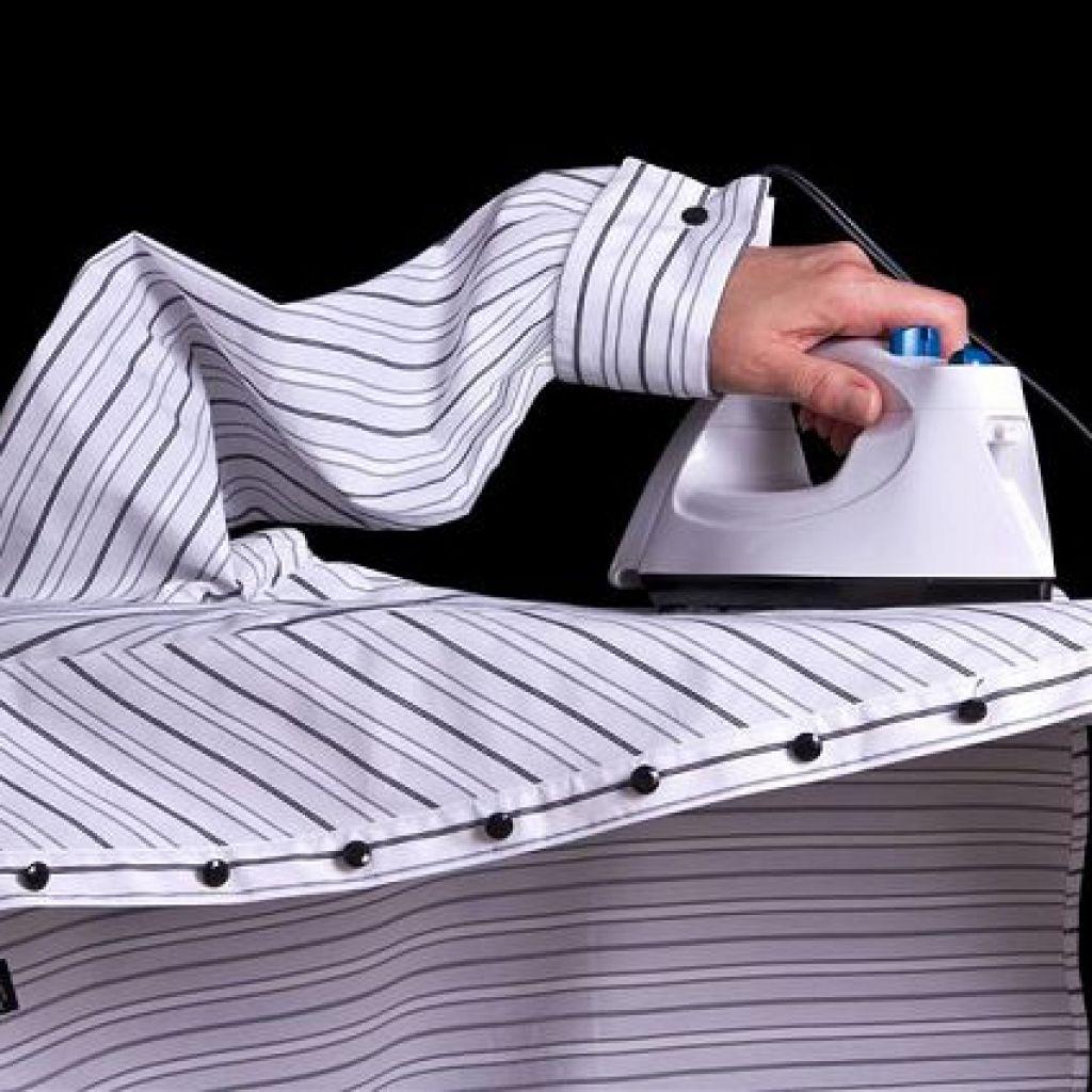 Глажка рубашки с длинным рукавом – подробная инструкция