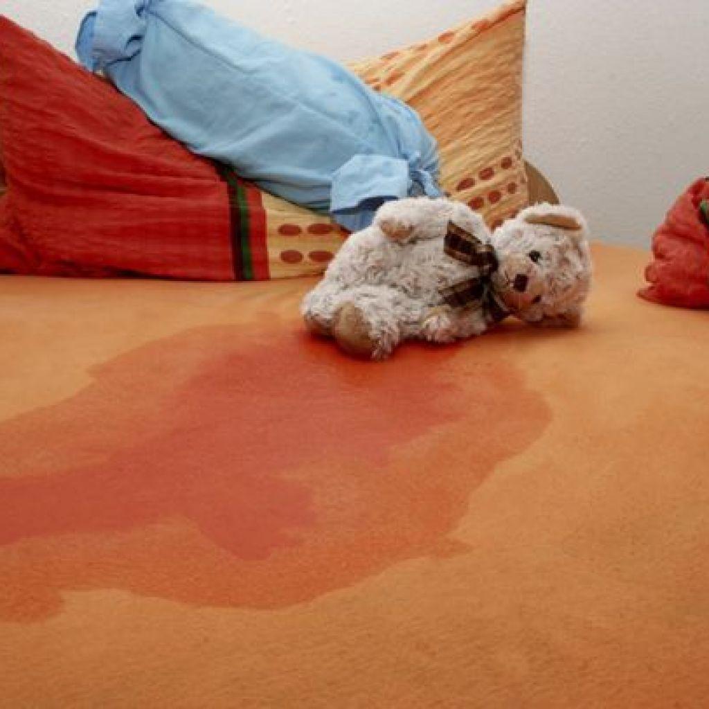 Все способы  – уборка детской мочи с дивана