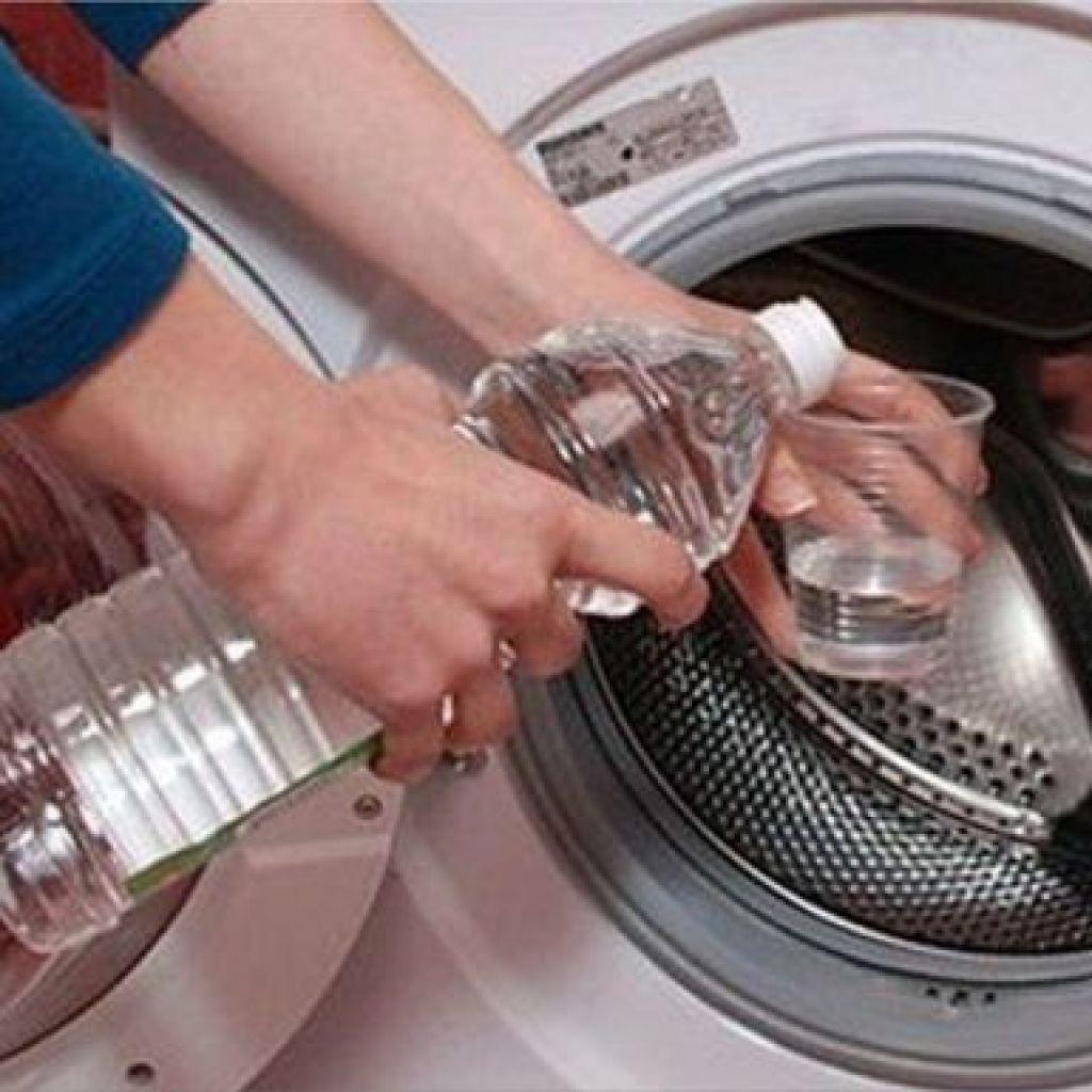 Чистить стиральную машину уксусом – пошаговая инструкция!
