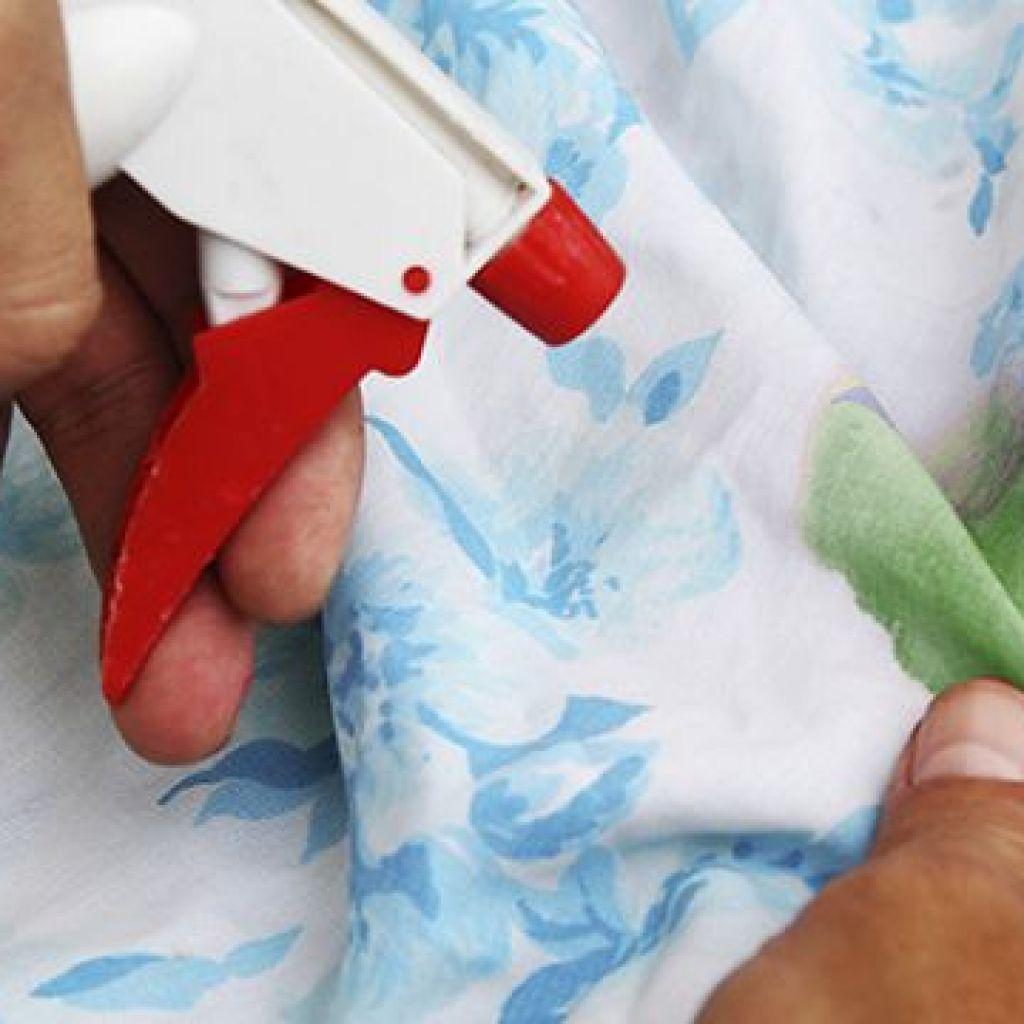 7 способов отстирывания зелёнки с одежды