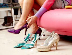 Кожаная обувь жмет