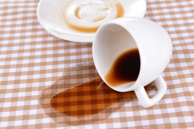 Как отстирать кофе