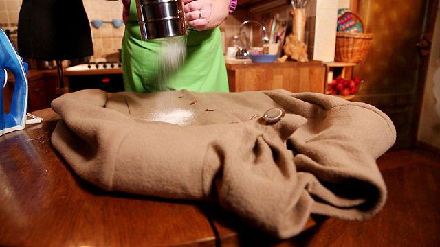 Вывести пятно с кашемирового пальто фото