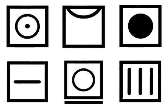 Обозначения для стирки на ярлыках