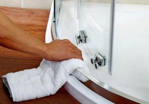 Чем мыть душевую кабину