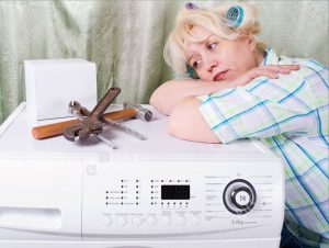 Cтиральная машина не сливает воду