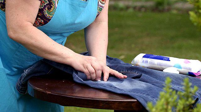 Как отлепить жвачку от джинс — Чисто в доме