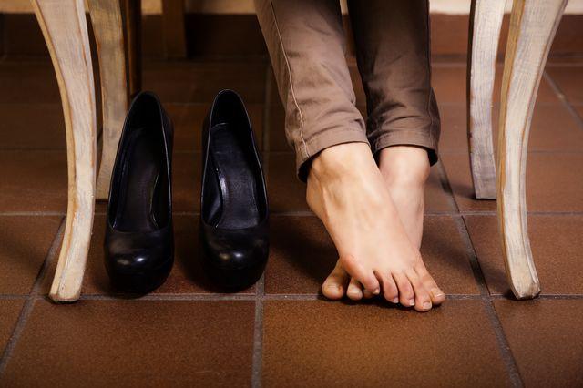 Как растянуть туфли