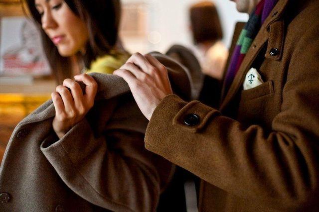 Как стирать пальто