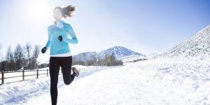Занятие спортом зимой