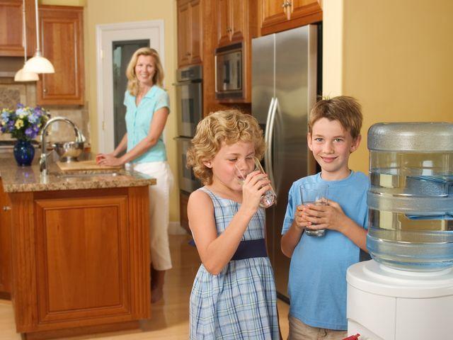 Чистая вода из кулера
