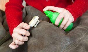 Как почистить дубленку