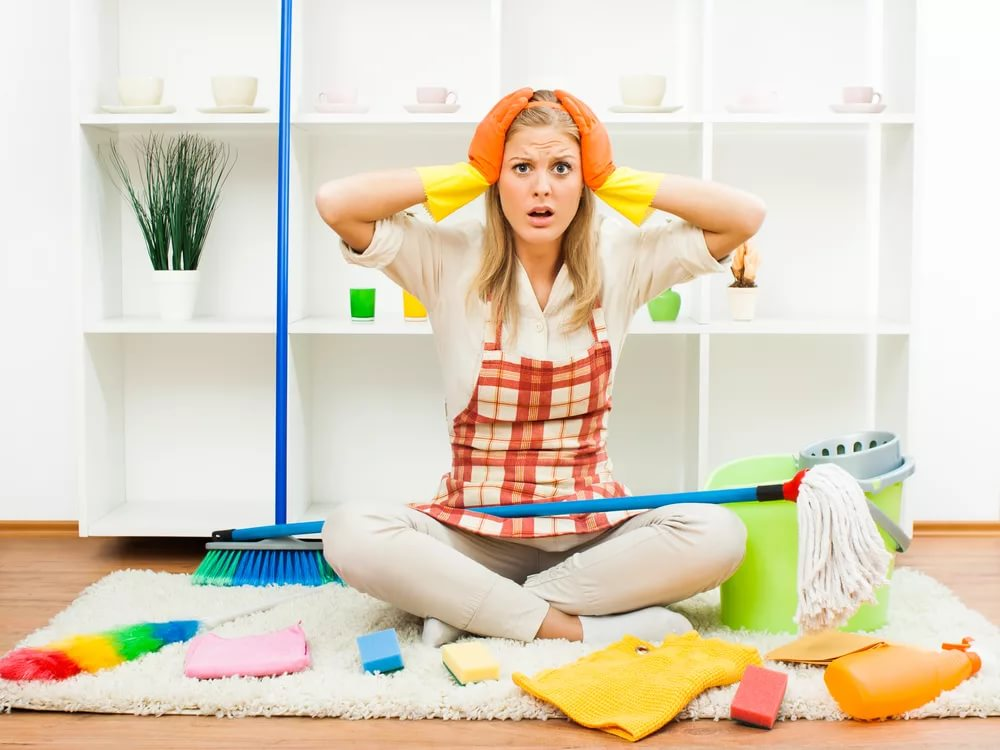 Как хочется уюта и чистоты!