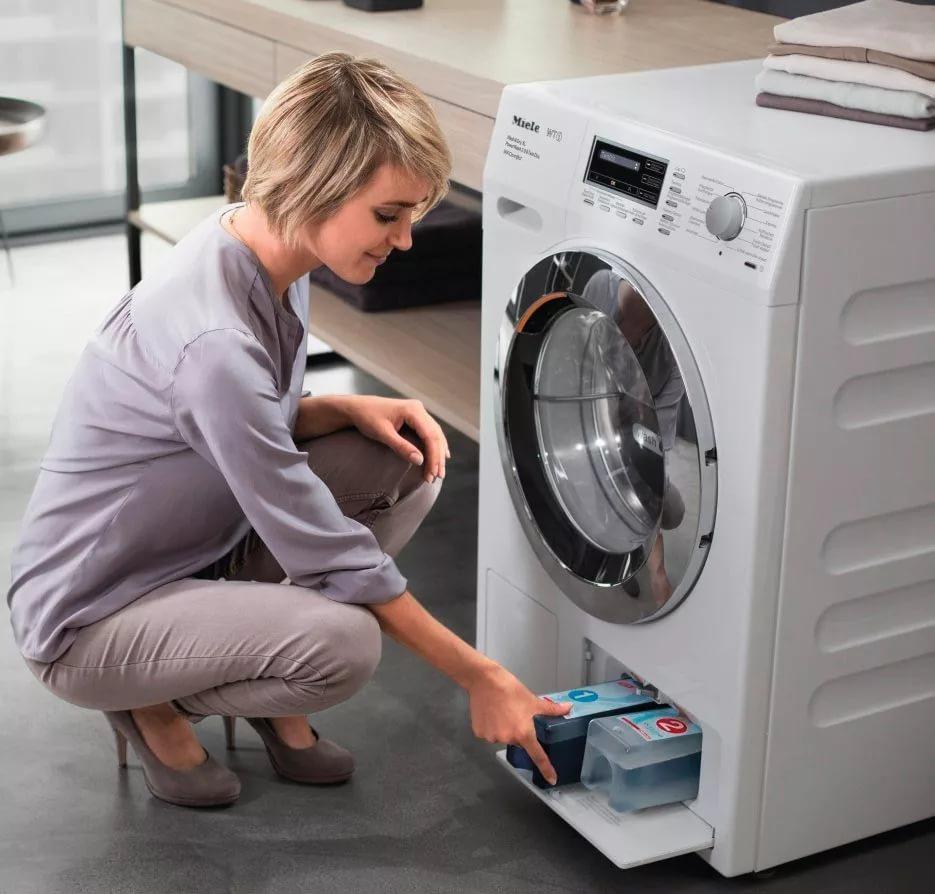 Стиральная машина Miele, которая заботится о тканях - новая бытовая техника